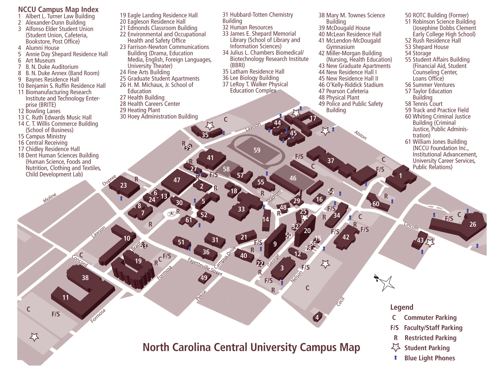 North Greenville University Campus Map | Time Zones Map on