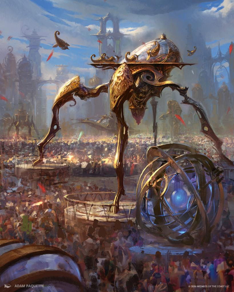 Image result for hangarback walker mtg inventions art