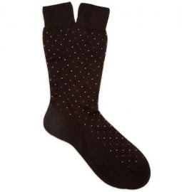 Richard James Embroidered Cotton Socks