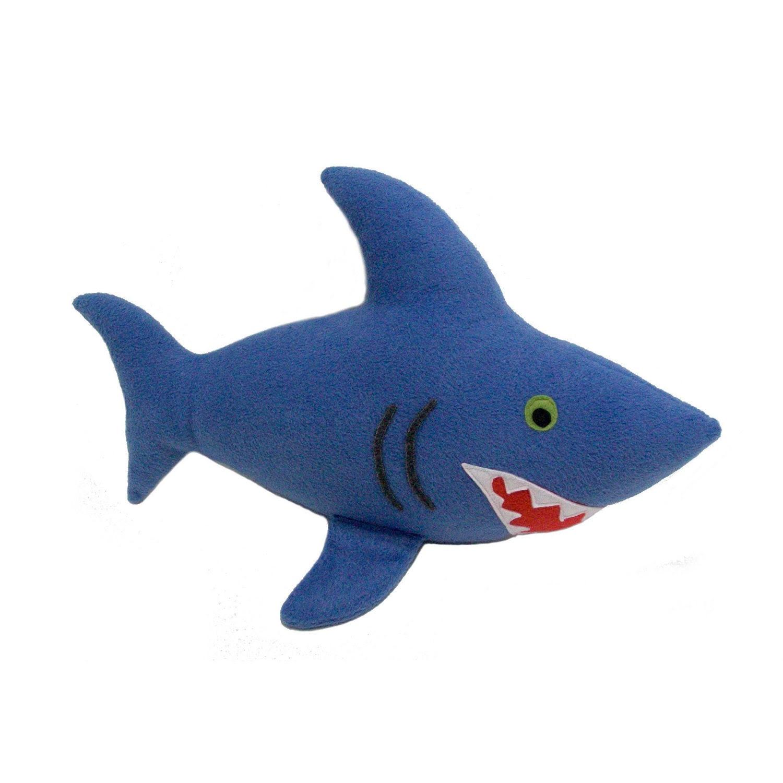 Huggable Slate Blue Shark - wimsys