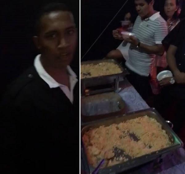 Funcionário da 4Mãos agride cliente no show de Aviões no MA, que foi servido Open Food de Arroz