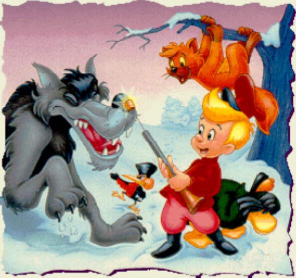 Dibujos Del Cuento De Pedro Y El Lobo Para Colorear Imagui
