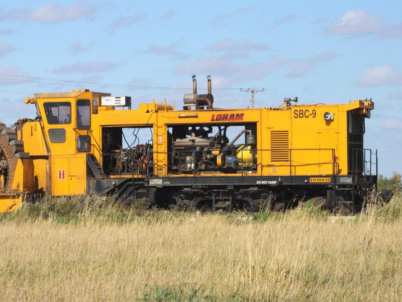 Loram SBC-9 in Winnipeg