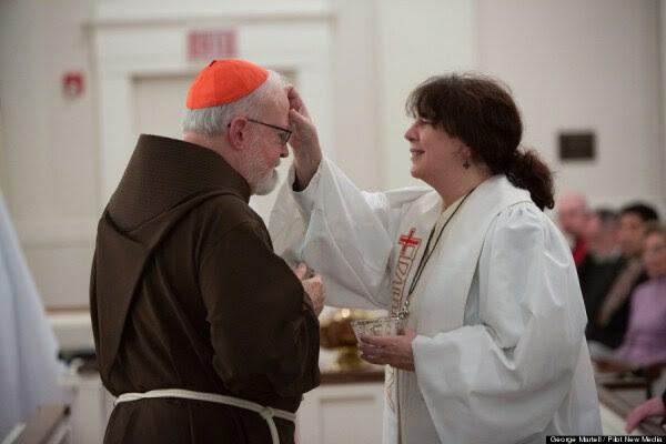Il cardinale OMally benedetto da protestante