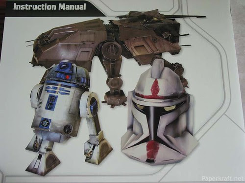 Star War Paper Model Kit 9a