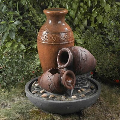 Water Fountain Distressed Decor | Wayfair