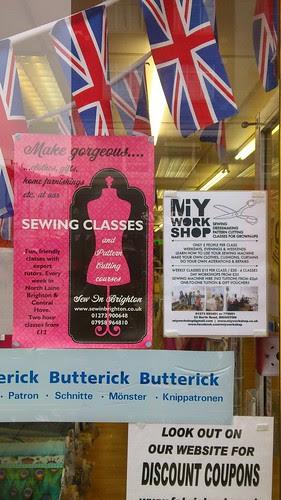 02 Fabric Land Shop, Brighton
