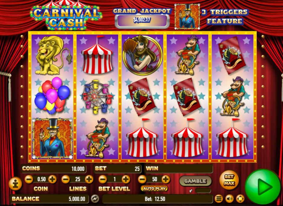 Carnival cash slot machine online habanero without tips