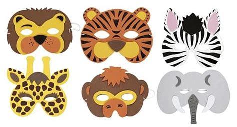 printable animal masks templates animal mask