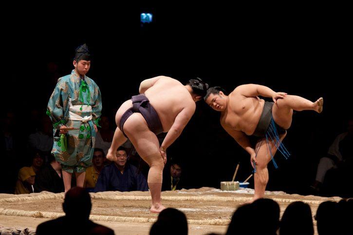 danza previa pelea sumo