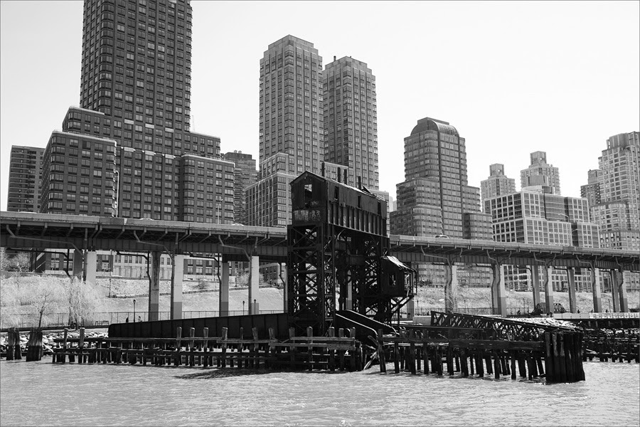 Train tressle, Riverside Park, NYC
