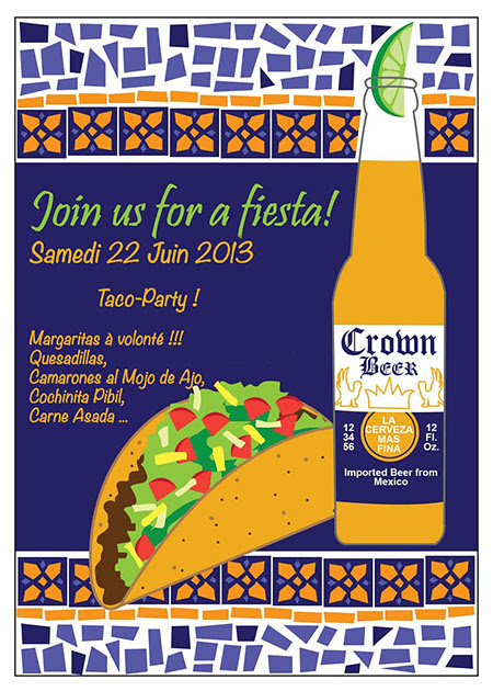 invitation mexicaine