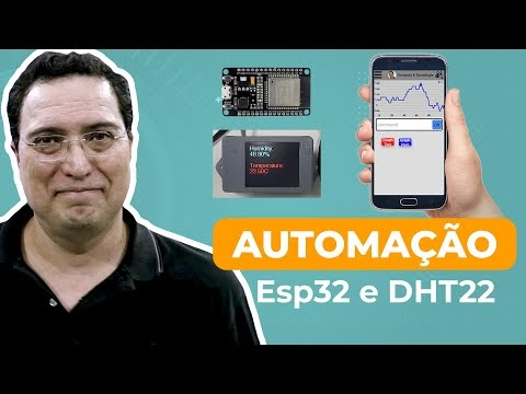 Automação ESP32 e DHT22
