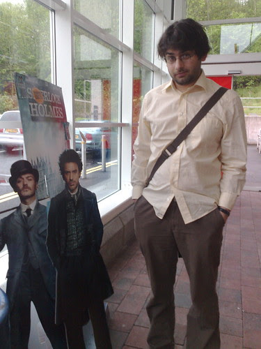 Nic meets Holmes and Watson
