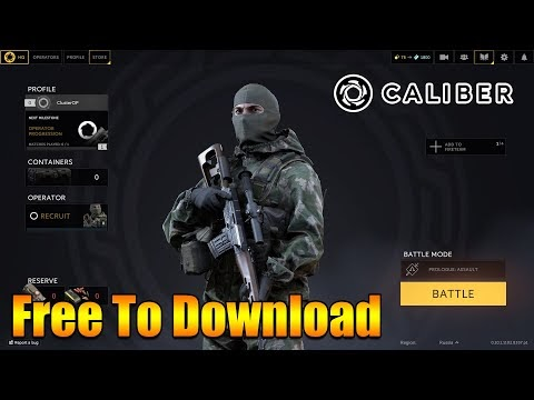 This Russian Tactical Shooter Game is FREE TO PLAY - Introducing 'Calibe...
