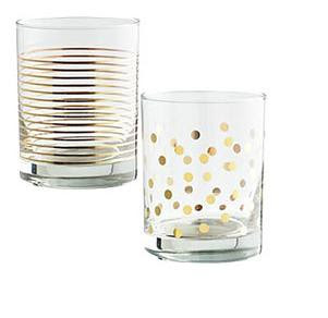 Pier One Polka Dot Tumblers