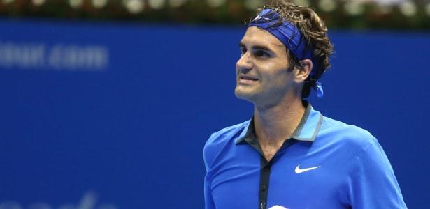 Federer lamenta derrota para Belluci no Desafio Internacional de Tênis, em SP