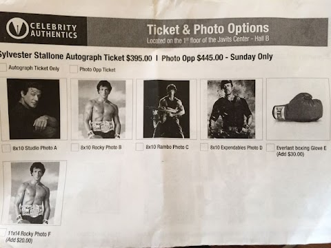 New York Comic Con Autograph Prices