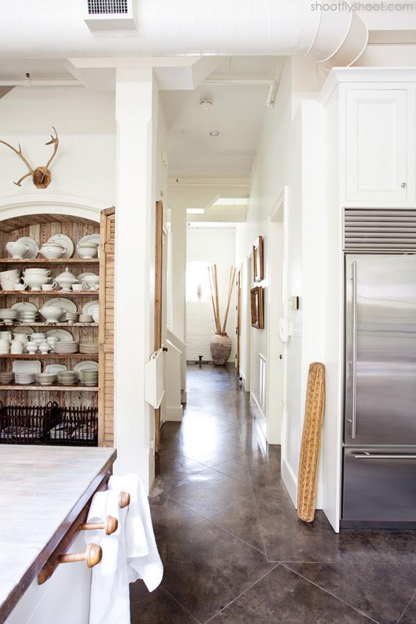 Atchison Αρχική | Λευκό και ξύλο Κουζίνα