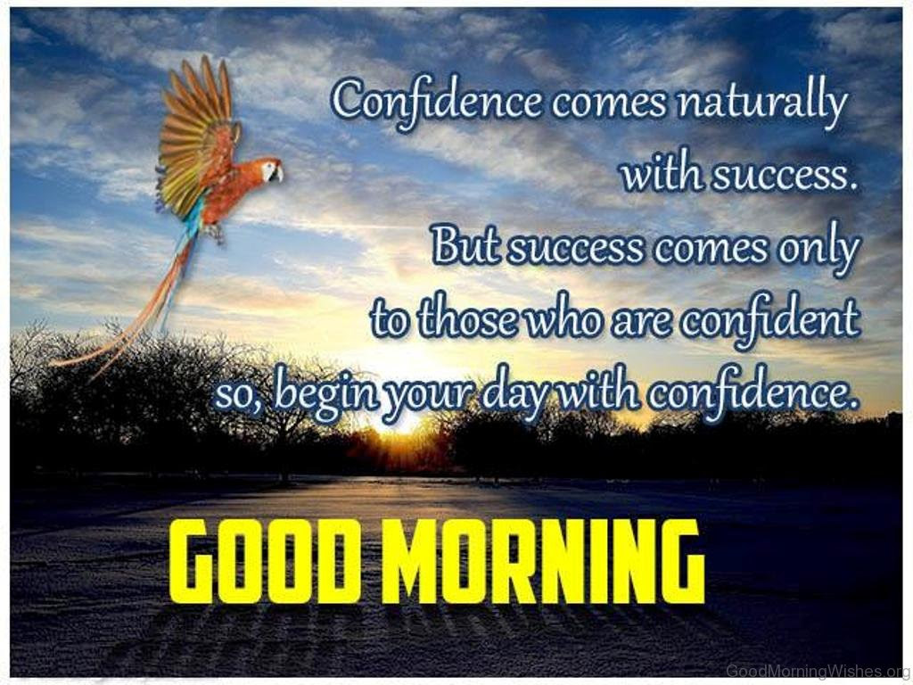 Confidence es Naturally With Success