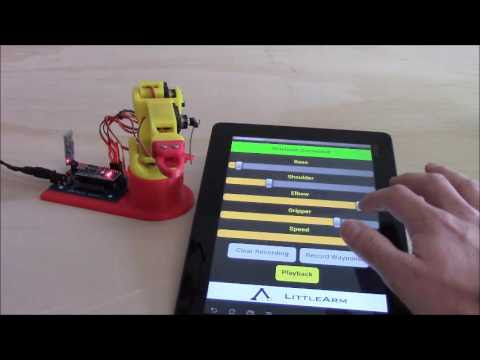 LittleArm 2C Mini Arduino Robotic Arm
