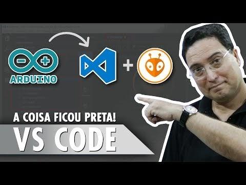 A coisa ficou preta! VS Code