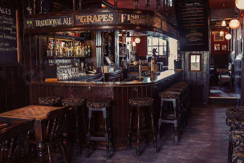 The Grapes pub - Wapping, London