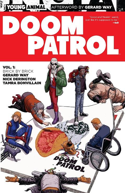 Doom Patrol Comic Gerard Way