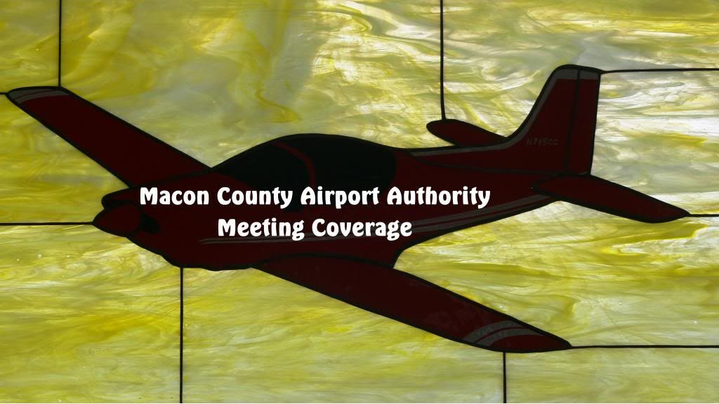 Macon County Airport Authority General Title Card