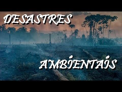 Os 3 maiores DESASTRES AMBIENTAIS causados pelo homem (#Pirula 310)