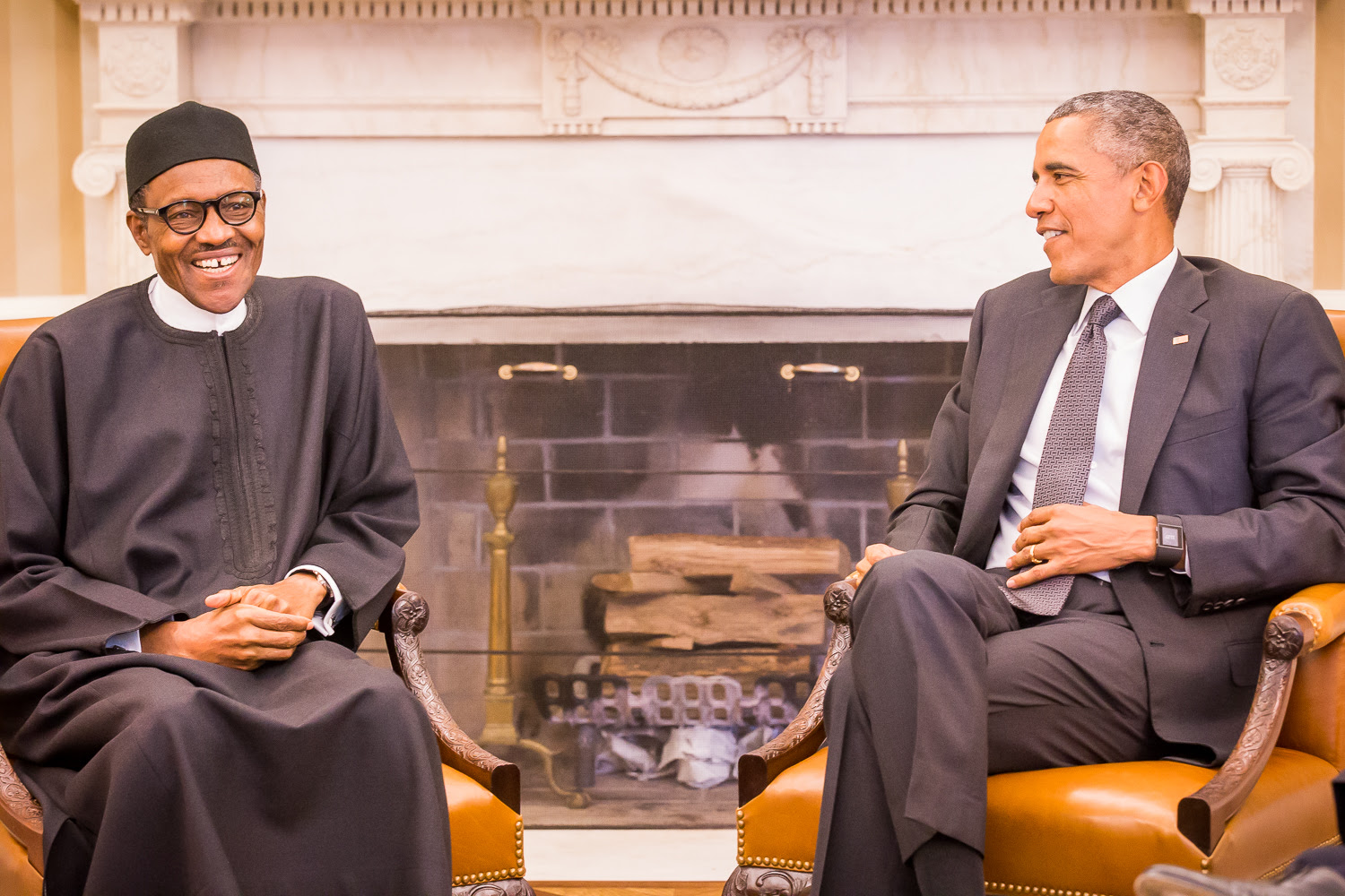 Image result for buhari obama