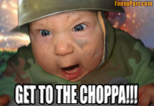 Army Baby Funny Picture