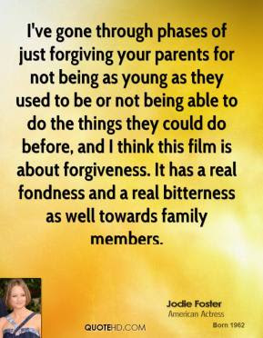 Jodie Foster Forgiveness Quotes Quotehd