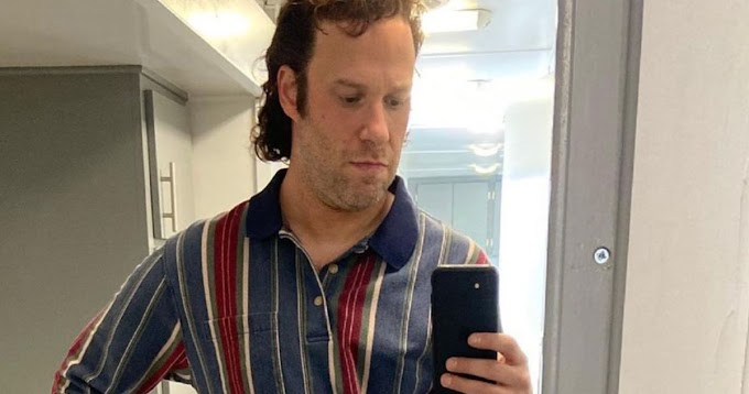Seth Rogen Goes Beardless in New Pam & Tommy Images