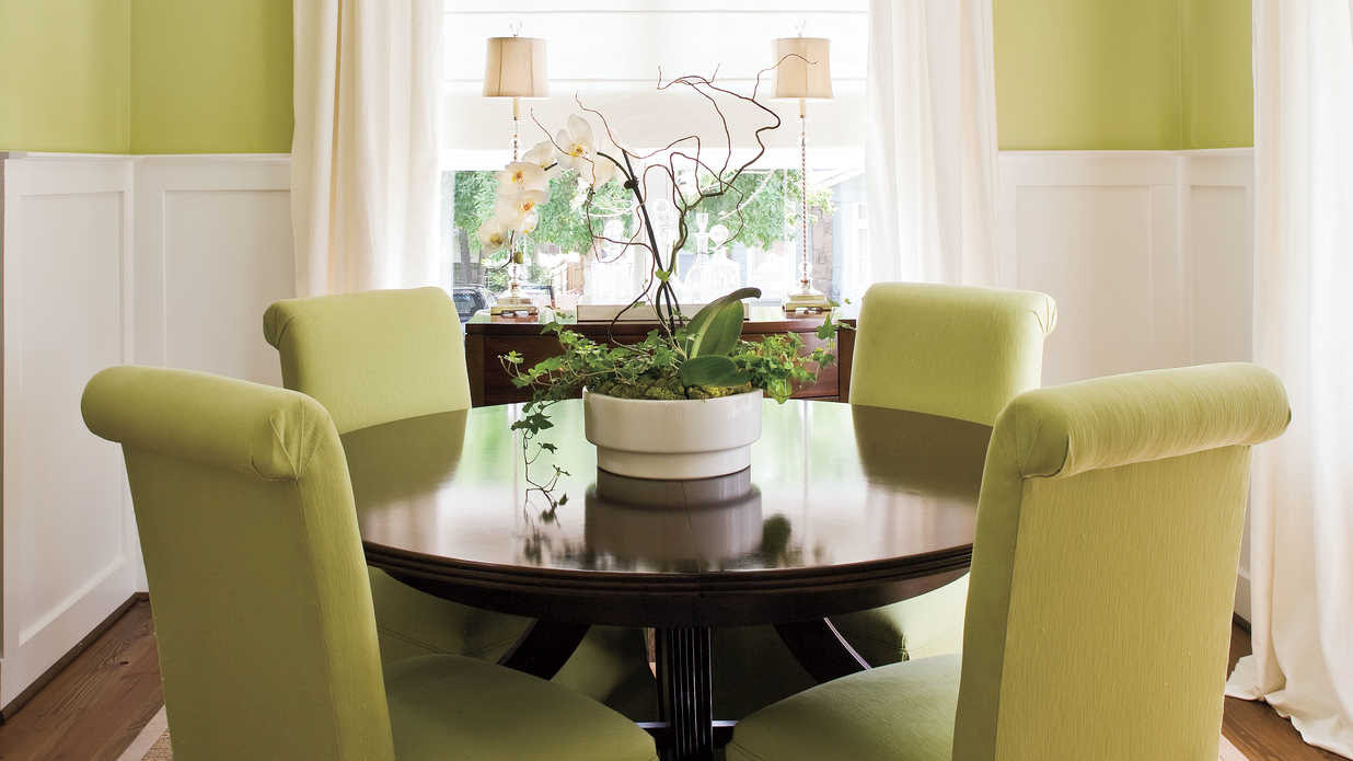 Make a Small Dining Room Look Larger - Stylish Dining Room ...