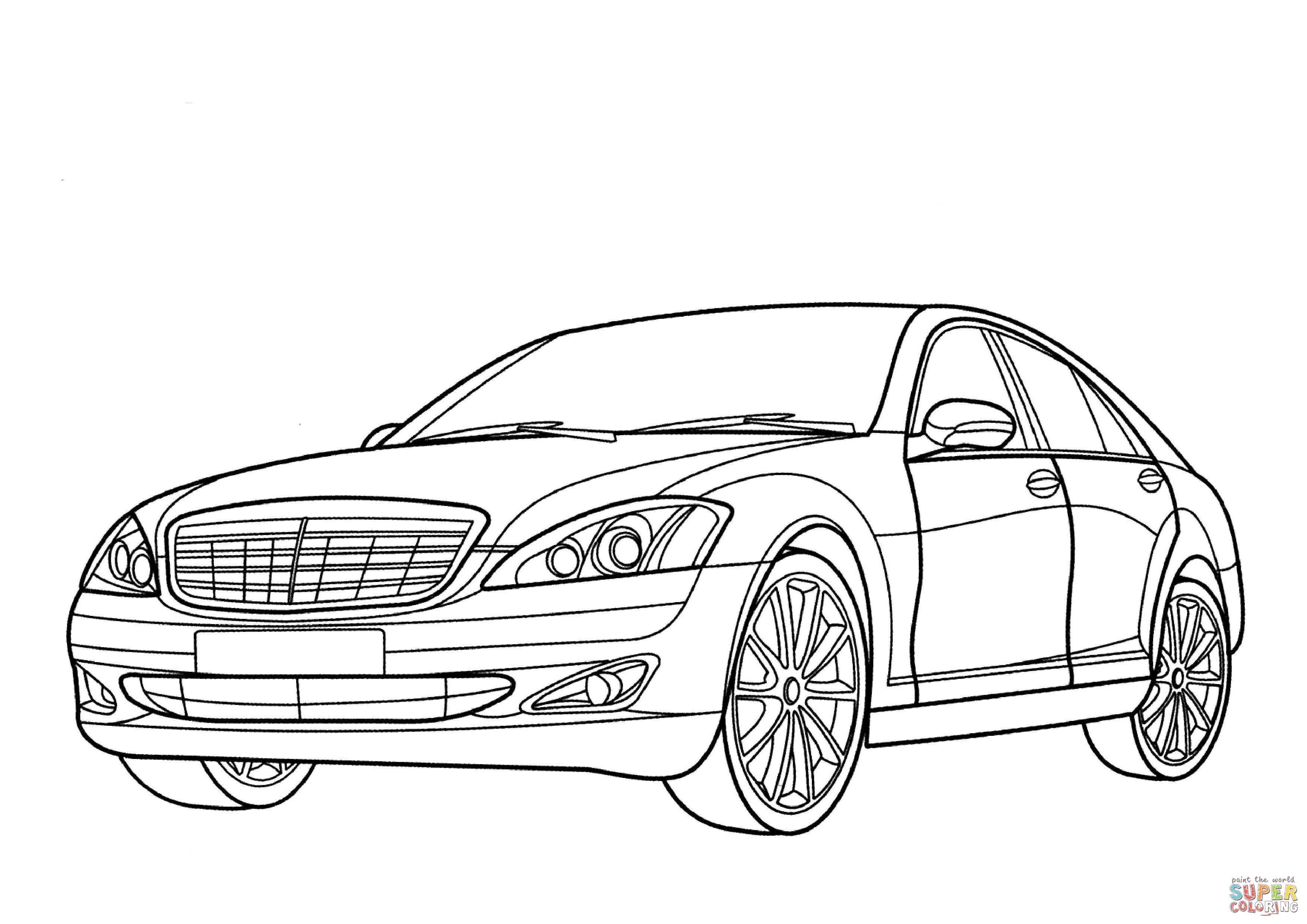 Kleurplaten Auto Mercedes.Luxe Kleurplaten Auto Mercedes Krijg Duizenden Kleurenfoto S Van
