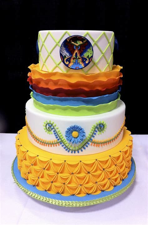 42 best images about Cakes and the colors of Mexico on