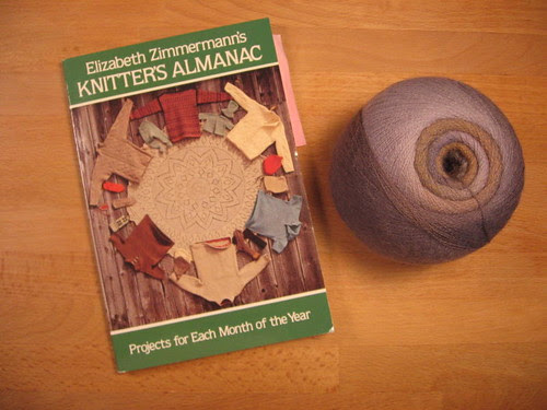 Book and yarn