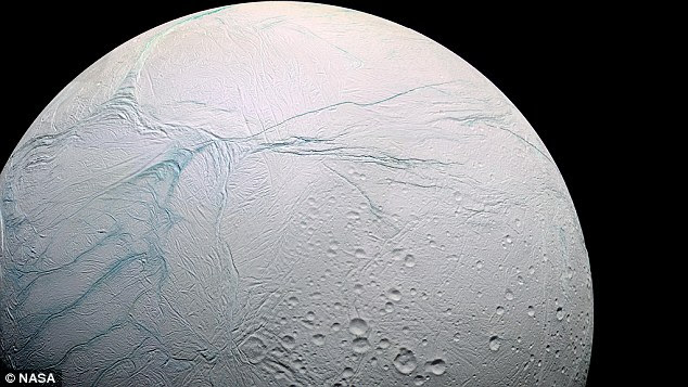 Μπορεί να υπάρχει εξωγήινη ζωή που κρύβεται στο ηλιακό μας σύστημα, σύμφωνα με νέα έρευνα.  Τα μικρόβια μπορούν να ευδοκιμήσουν στον ζεστό, υπόγειο ωκεανό στον Enceladus, ένα παγωμένο φεγγάρι που περιστρέφει τον Κρόνο, τον έκτο πλανήτη από τον ήλιο, μια μελέτη