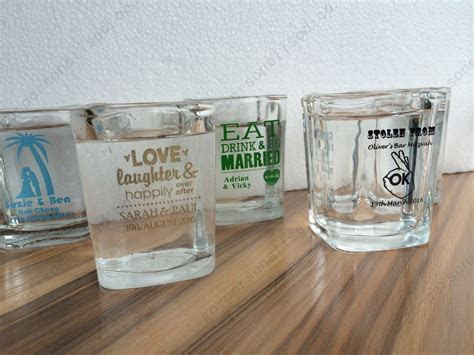 cheap personalized shot glasses bridal gifts wholesale