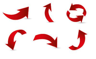 フリーで使える色々なイラストの矢印30 パソコン生活サポートpasonal