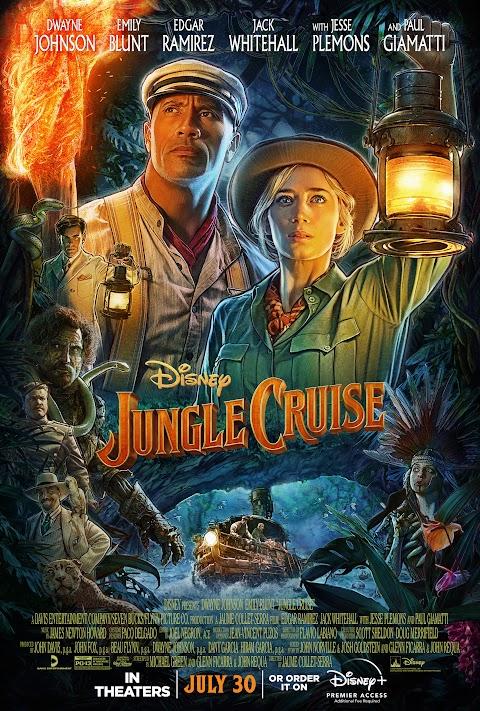 Jungle Cruise (2021) 480p 720p 1080p WebRip English Full Movie