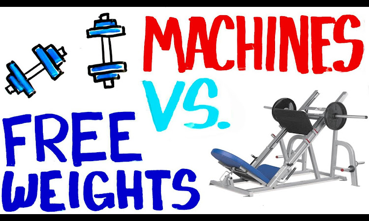 Free Weights vs Machines - Best For Building Muscle? Get Stronger?