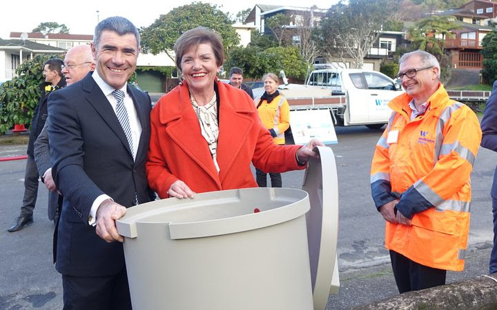 Civil Defence Minister Nathan Guy and Local Government Minister Anne Tolley said it made sense for central government to contribute to the project.