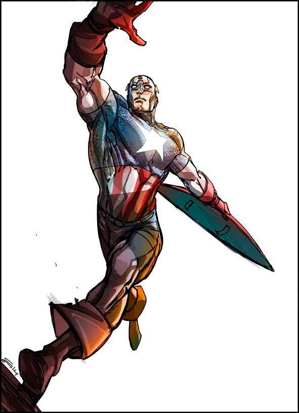 Captain America by Carmine Di Giandomenico *