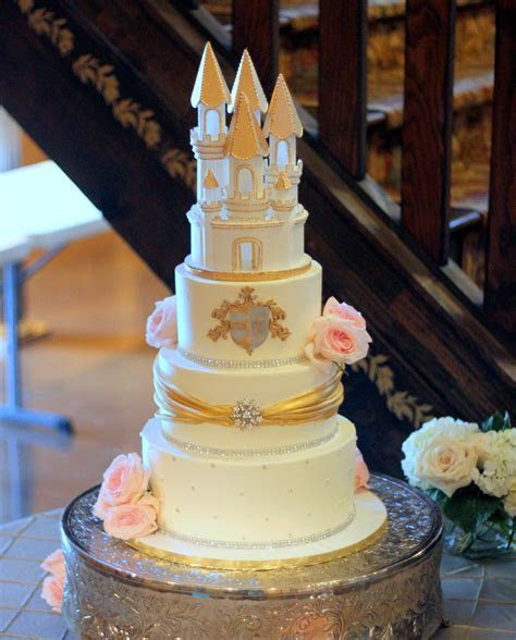 Castle Wedding Cake   Ambrosia Cake Creations