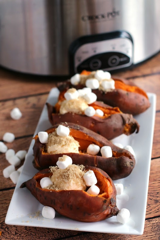 Slow Cooker Sweet Potatoes | The Magical Slow Cooker