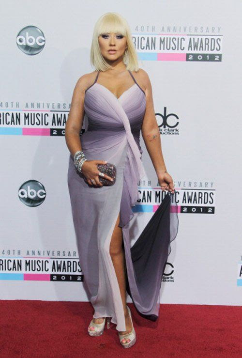 40th American Music Awards - November 18, 2012, Christina Aguilera