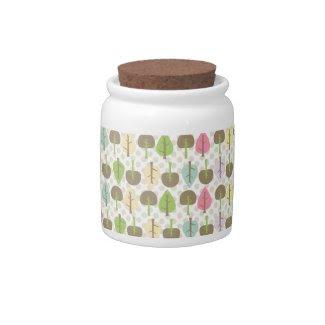 Woodland Candy Jar