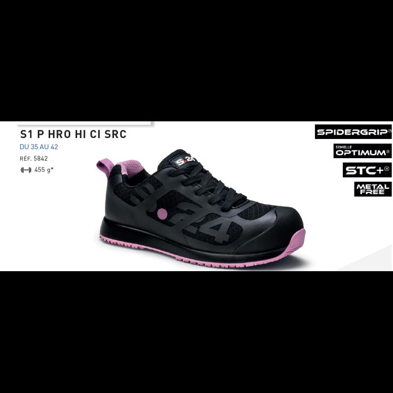Chaussures De Sécurité Femme Baskets Embout Composite Salsa